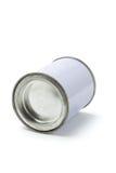 能被密封的罐子白色 图库摄影