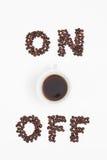 能量咖啡 免版税图库摄影