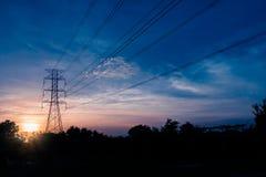 能量塔 免版税图库摄影