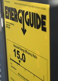 能量指南 库存图片