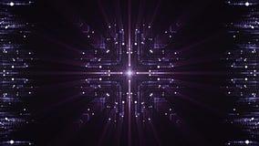 能量盘旋核心系统摘要动画背景新的质量技术普遍行动动态生气蓬勃 库存例证