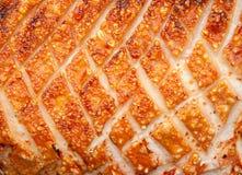 脆皮猪肉 免版税库存照片