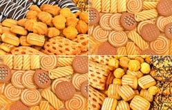 脆饼、吹和曲奇饼 免版税库存照片