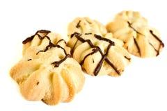 脆饼用巧克力 免版税库存照片