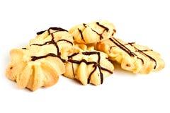 脆饼用巧克力 库存图片