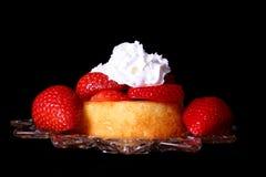 脆饼草莓 图库摄影