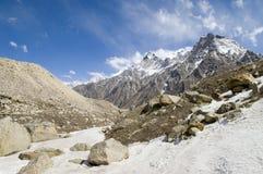 脊椎喜马拉雅山 免版税库存图片