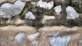 脏的具体岩石墙壁纹理 图库摄影