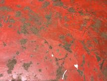 脏的土气困厄的葡萄酒古董金属背景 库存图片