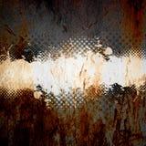 脏的泼溅物模板 免版税图库摄影