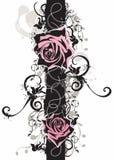 脏的玫瑰 免版税库存图片
