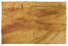 脏的纸张 免版税库存图片
