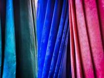 脏的老生动的接近的遮阳伞帆布纹理 图库摄影