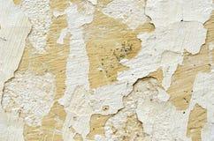 脏的被撕毁的墙壁纹理背景 库存图片