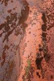 脏的金属纹理 免版税库存图片