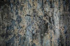 脏的破裂的水泥墙壁 免版税库存图片