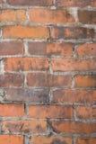 脏背景的砖 免版税图库摄影