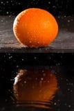 脐橙 库存照片