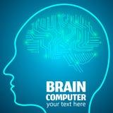 脑力劳动1 向量例证