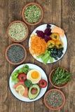 脑子健康食品营养 库存照片