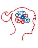 脑子循环 免版税库存照片