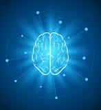 脑子设计 免版税库存照片