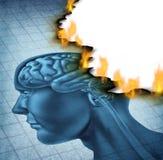 脑疾病 库存图片