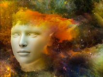 头脑的彩虹 免版税图库摄影