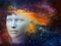 头脑的彩虹 库存照片