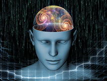 头脑的幻觉 免版税图库摄影