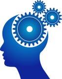 头脑齿轮 向量例证