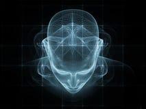 头脑幻觉  库存图片