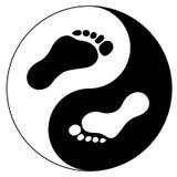 脚印概念 免版税库存图片
