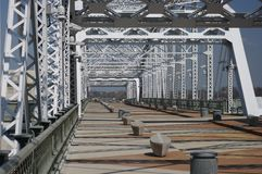脚桥梁纳稀威, Tn 图库摄影