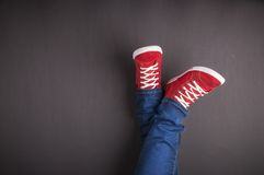 脚概念 免版税库存照片
