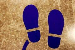 脚的象方式 免版税库存图片