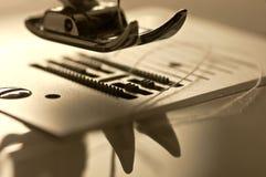 脚缝纫机 免版税图库摄影