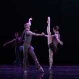 脚趾古典芭蕾` Austen汇集` 库存照片