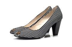 脚跟鞋子妇女 图库摄影