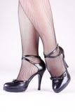 脚跟高夫人 免版税图库摄影