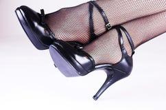脚跟高夫人 图库摄影