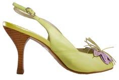 脚跟高鞋子夏天 免版税库存图片