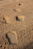 脚跨步海滩- 01 图库摄影