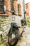 脚踏车葡萄酒 库存照片