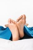 脚,放松 免版税库存照片