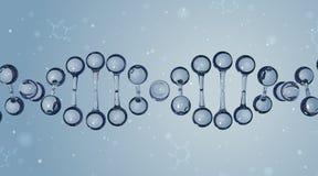 脱氧核糖核酸分子 向量背景 免版税库存照片