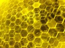 脱氧核糖核酸纳米技术 库存例证