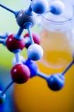脱氧核糖核酸结构 免版税库存照片