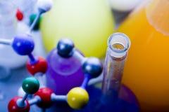 脱氧核糖核酸结构 图库摄影