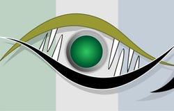 脱氧核糖核酸设计 库存照片
